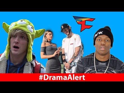 Logan Paul ALMOST DIES! #DramaAlert FaZe Banks & Alissa Violet BACK, KSI & Joe Weller