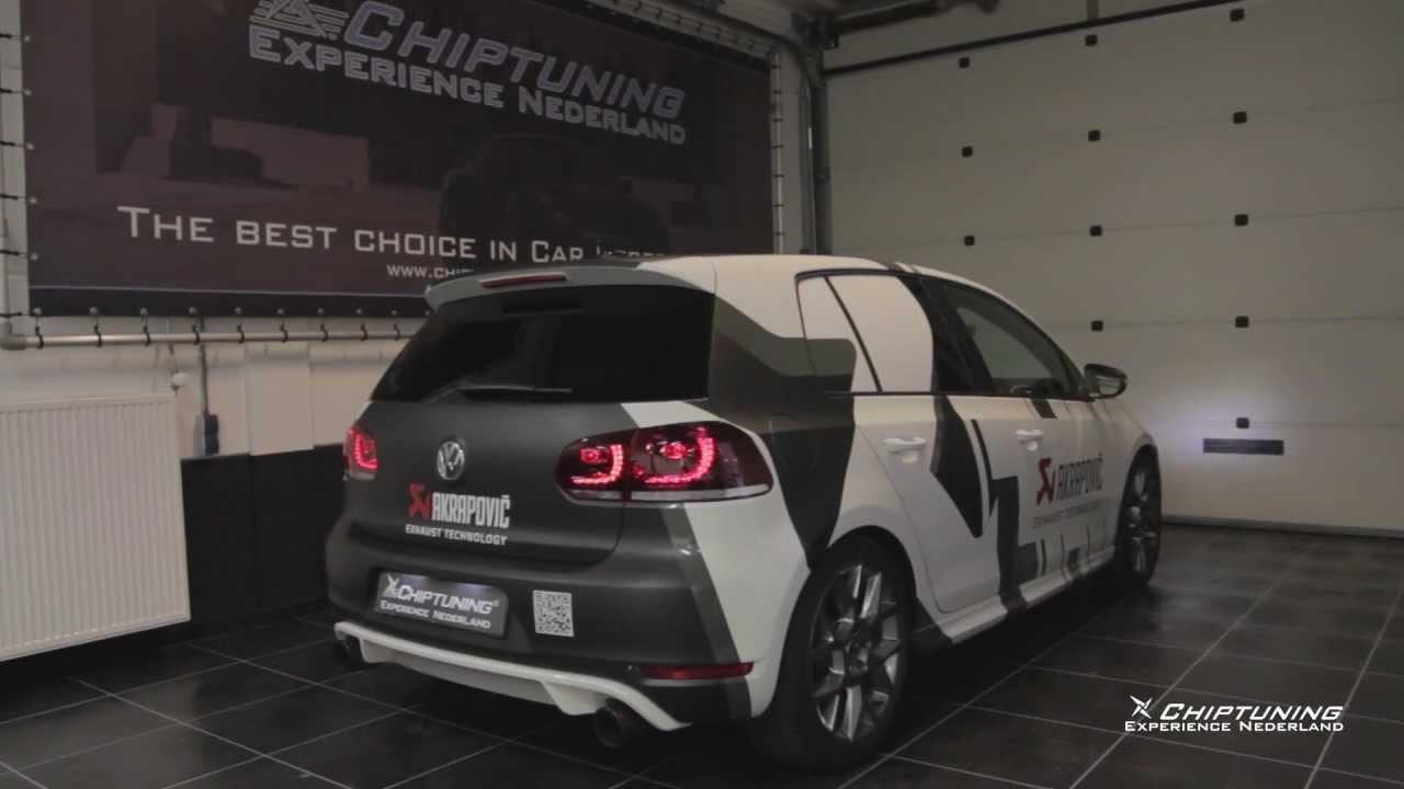 vw golf gti edition 35 with akrapovic exhaust and tuning. Black Bedroom Furniture Sets. Home Design Ideas