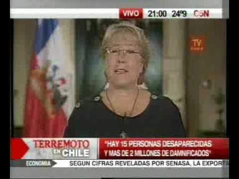 Terremoto en Chile video 12