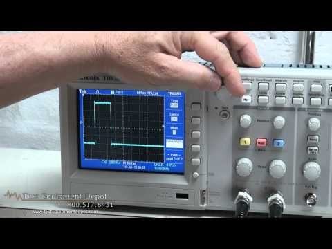 Tektronix TDS2022C 200 MHz, 2 Channel, 2GS/s Digital Storage Oscilloscope