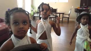 Cute Habesha kids Who live in USA and Europe dance