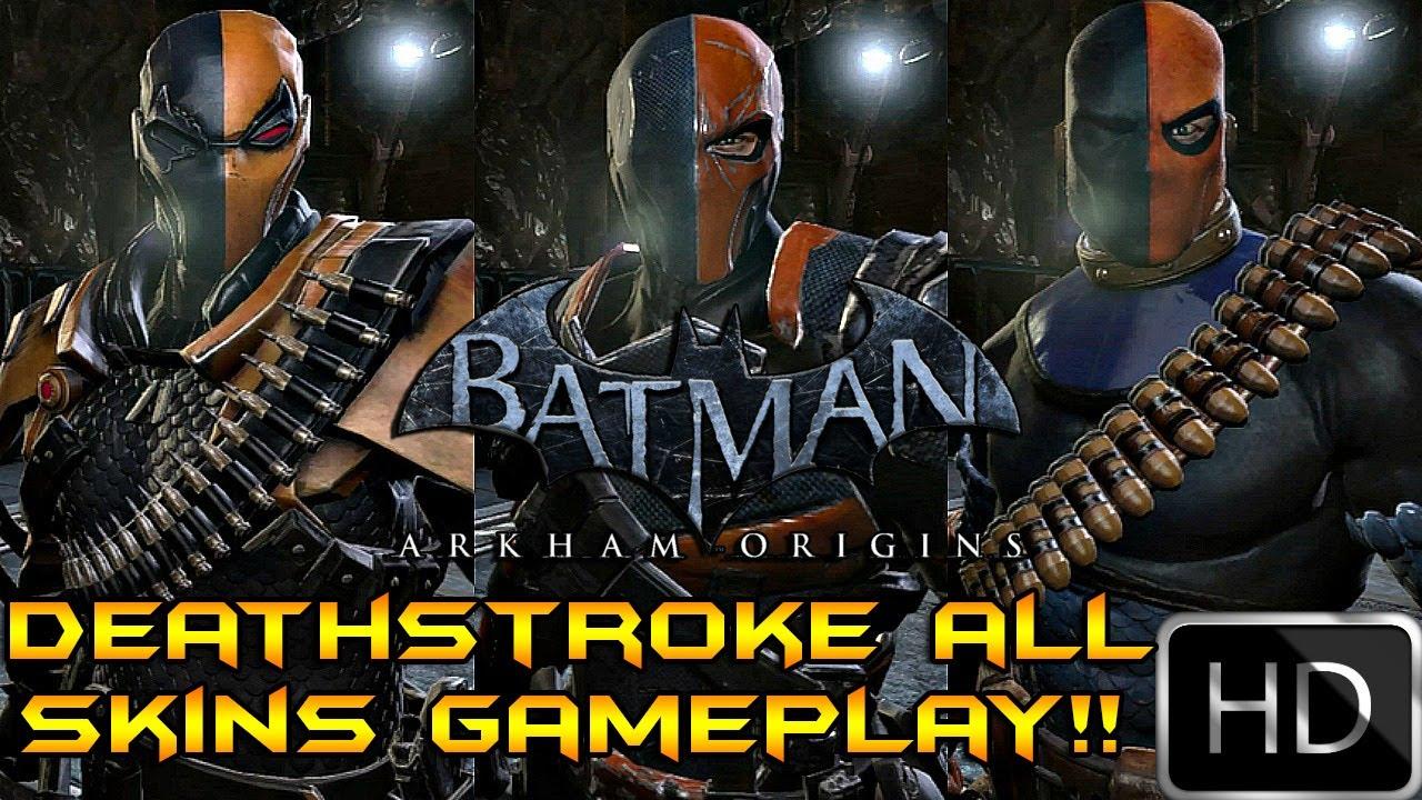 Batman Arkham Origins Deathstroke Mask Batman Arkham Origins