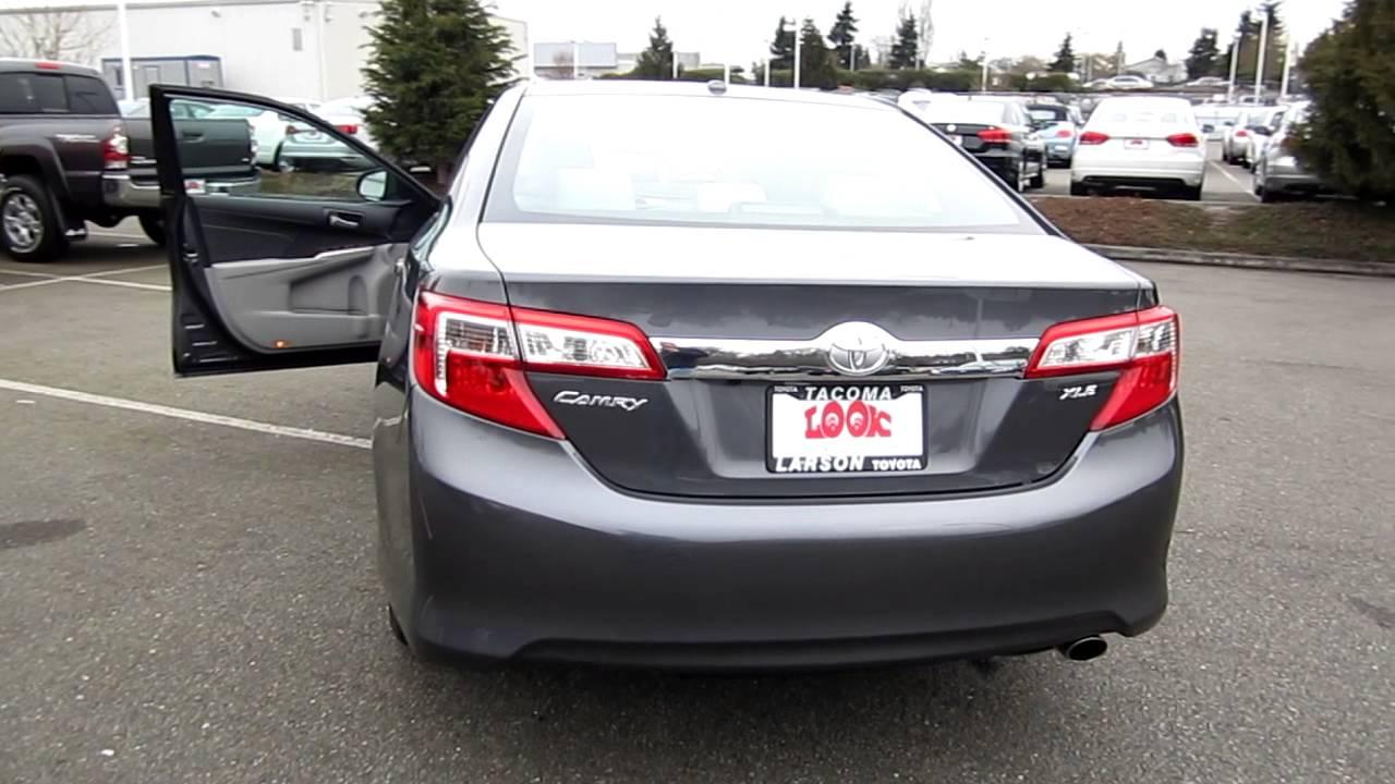 2013 Toyota Camry Xle Magnetic Gray Metallic Stock