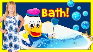 ASSISTANT Donald Duck Gets Ready for Bed TheEngineeringFamily Funny Kids Video
