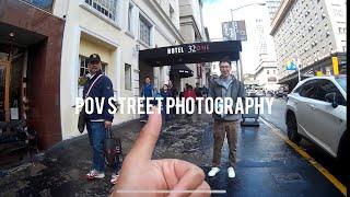 "POV San Francisco Street Photography - Canon F-1 ""New"""