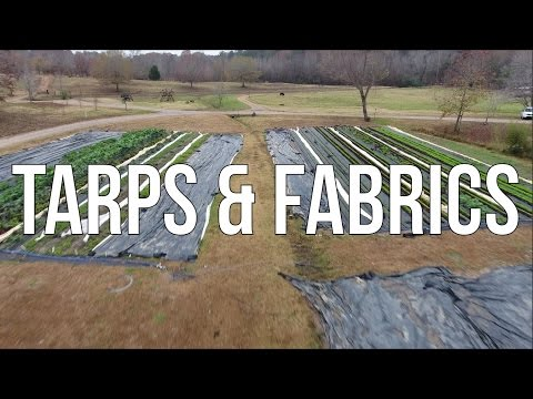 HOW TO USE TARPS & FABRICS