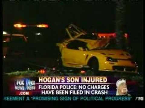 Nick hogan car crash youtube