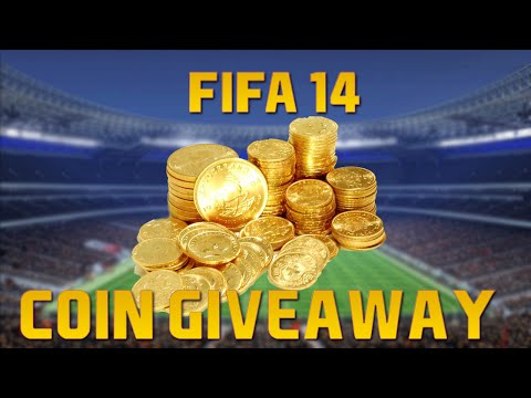 FIFA 14 ULTIMATE TEAM 800.000 COIN GIVEAWAY XBOX ONE/360