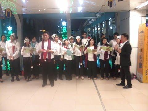 Christmas Eve 24 December 2014 Sky Walk Central World @ Bangkok Thailand