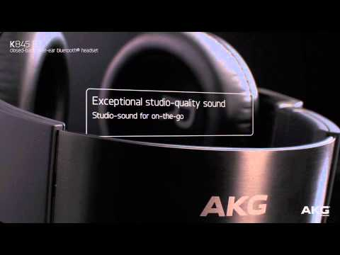 AKG K845 BT - High performance studio sound headphones with Bluetooth® connectivity