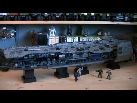 Halo Mega Bloks 97117 Forward Unto Dawn (Signature Series) Review