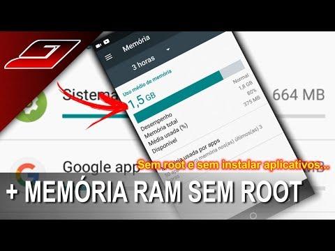 Como deixar o celular mais rápido - Aumentar memória RAM (Sem root e sem Apps)