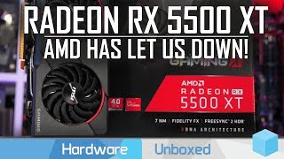 AMD Radeon RX 5500 XT 8GB Review, More Like 'RX 5500 Super'