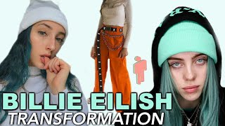 transforming myself into BILLIE EILISH...