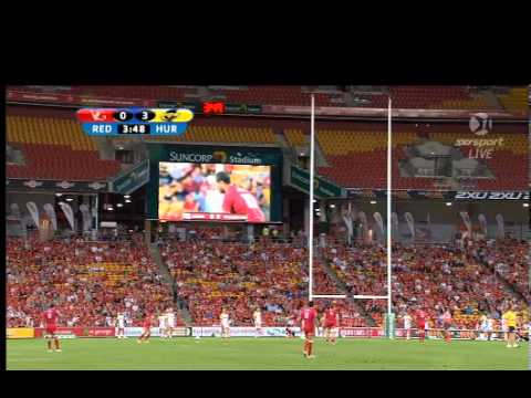 Reds vs Hurricanes Rd.3 1st half | Super Rugby Video Highlights