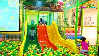 Funny Indoor Playground for Toddlers Kids Educational Learn Color & Baby Game Show