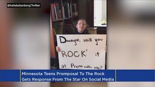 Dwayne 'The Rock' Johnson Responds To Stillwater Student's Promposal