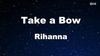 Download Lagu Take a Bow - Rihanna Karaoke 【No Guide Melody】 Instrumental Gratis STAFABAND