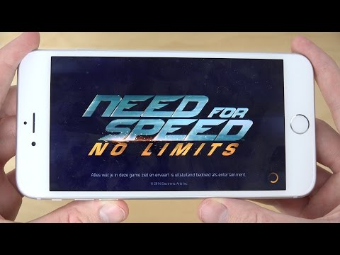 Need For Speed No Limits iPhone 6 Plus 4K Gameplay Review