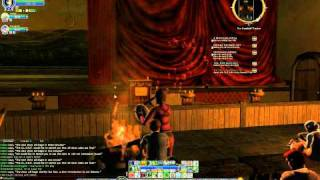 LOTRO - Through The Fire And Flames - Lute + horn + drums + HOT
