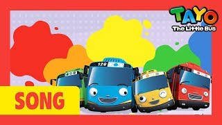 The Color Song l Learn Colors with Tayo the Little Bus l Car Color Song