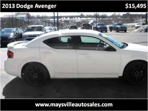 2013 Dodge Avenger Used Cars Maysville KY