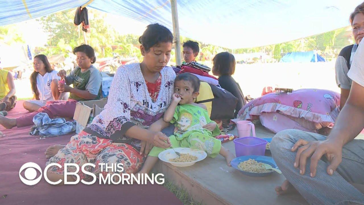 Indonesia earthquake and tsunami leave more than 70,000 homeless