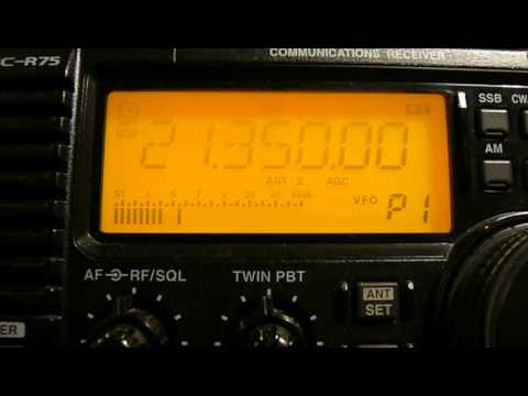 21350khz,Ham Radio,W4NP(WYTHEVILLE, VA,United States) 01-30UTC.