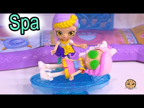 Spa Time ! Getting Married Shopkins Shoppies Bride Video 4