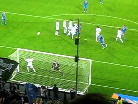 Hoffenheim Freistoß, Salihovic: 2-0 gegen Schalke