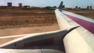 TU204 Take off in Antalya   Red Wings Airlines