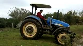 New Holland TD85D 4x4 Off Road!!!
