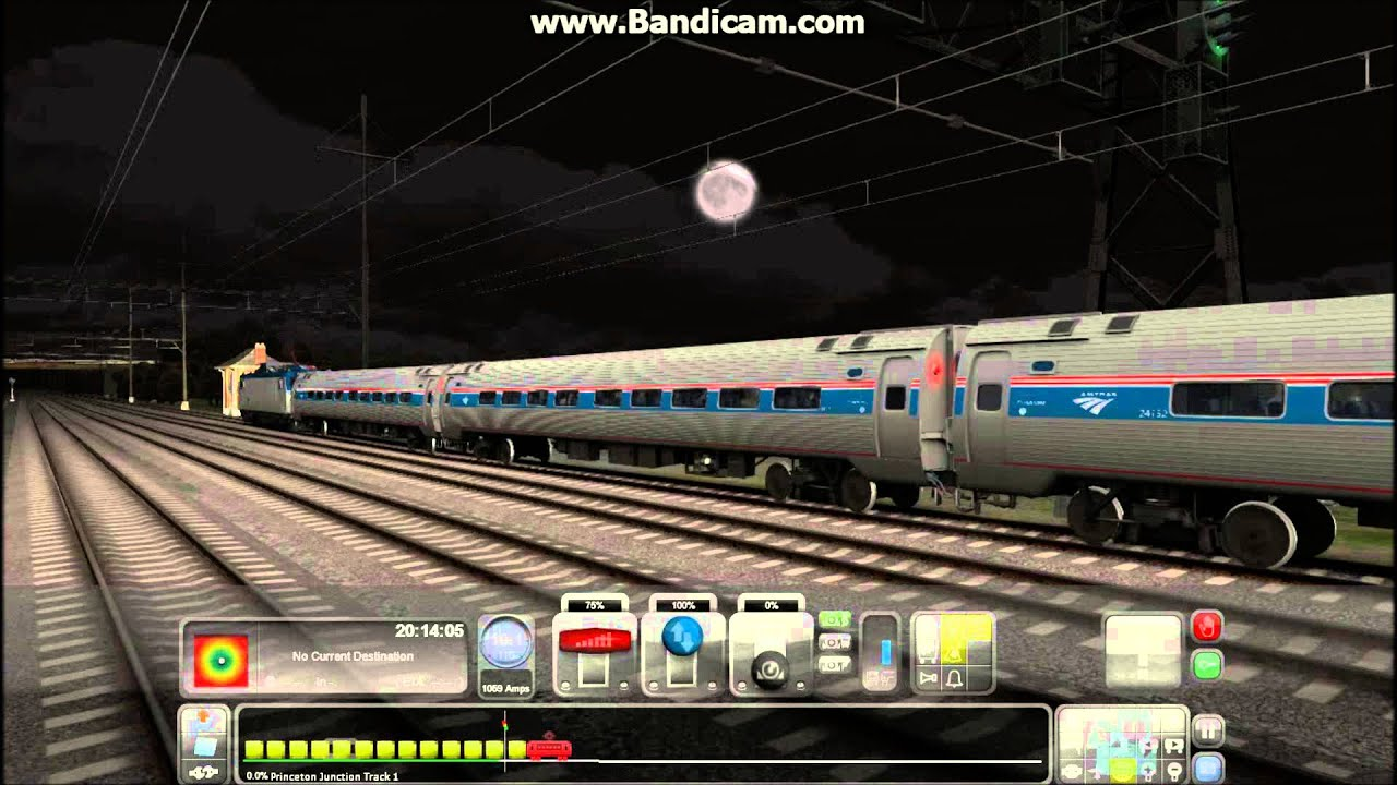 Amtrak train simulator free download