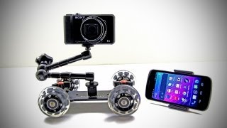 Pico Dolly Review (Pico Dolly Test) Sony HX9V & Canon 60D