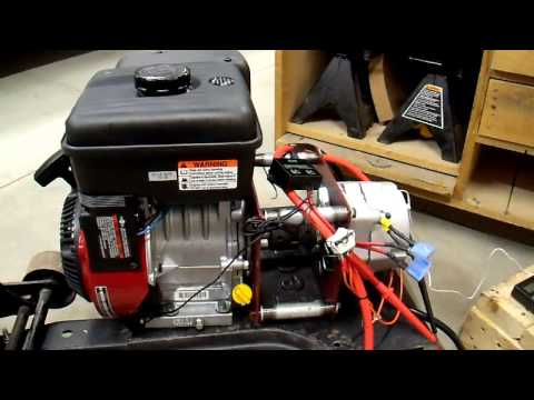 DIY 12V Generator Charger - 4 First Time Fire Up and First Time Fail