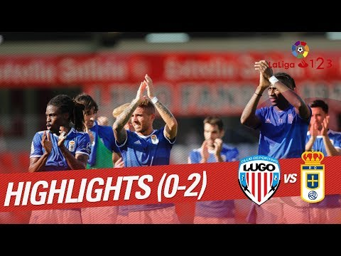 Resumen de CD Lugo vs Real Oviedo (0-2)