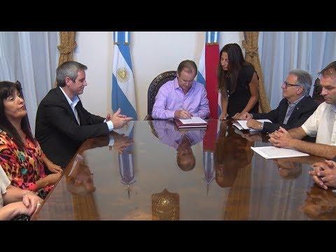 La Provincia invertirá 38 millones de pesos en la ampliación de la escuela normal de Colón
