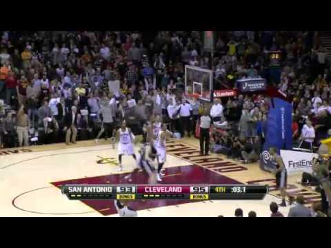 Kawhi Leonard's Game winning 3 (2.13.13) Spurs