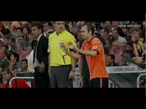 Andres Iniesta - The Great History Of A Spanish Hero I HD