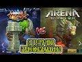 Mobile Legends VS Arena of Valor side by side hero comparison MP3