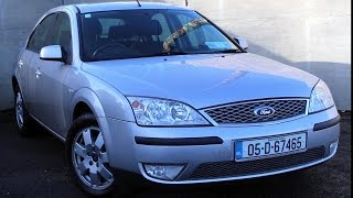 Ford Mondeo 2000 - 2007 review | CarsIreland.ie