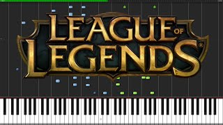 Worlds Collide - League of Legends (World Championship 2015) [Piano Tutorial] // AniPiano