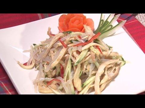現代心素派-20150130 香積料理 - 涼拌蒟蒻杏鮑菇、如意杏鮑菇 - 在地好美味–一著鮮素食