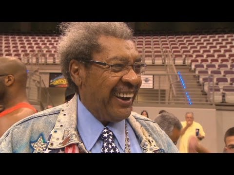 Don King still hard at work