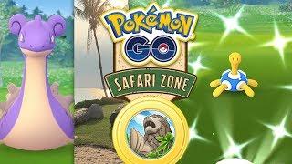Safari-Zone Sentosa Gameplay! Shiny-Lapras & -Pottrott | Pokémon GO Deutsch #972