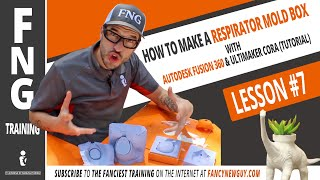 HOW TO MAKE A RESPIRATOR MOLD BOX - FNG Training: Lesson 7 w/ your FANCY host Guy Greg Serio The FNG