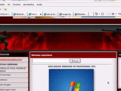 tutorial descargar windows xp  sp3