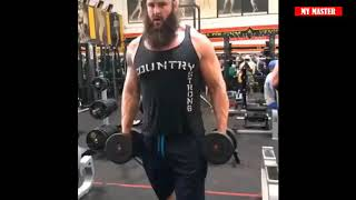 BROCK LESNAR VS BRAUN STROWMAN WORKOUT