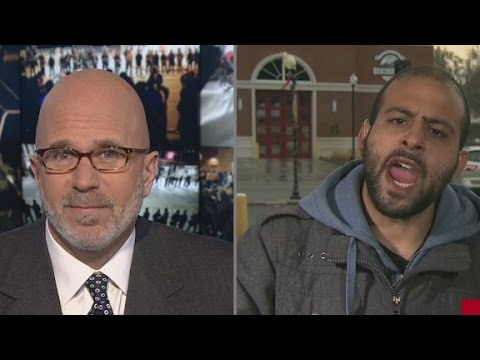 CNN interview gets testy over Ferguson protests