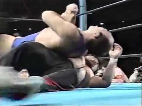 NJPW, 24.04.89. Шинья Хашимото против Виктора Зангиева